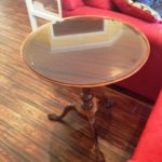 Bronze Tinted Glass Furniture Table Top With Bevel