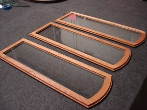 Clear Cabinet Door Glass Custom Cut for Patterned Fit