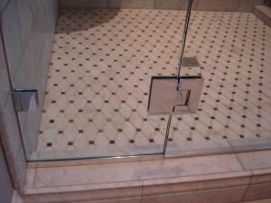 Chrome Shower Hardware – Semi Frameless Glass Shower