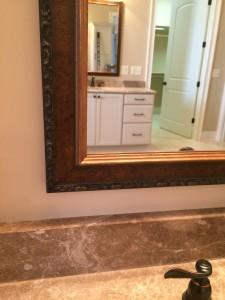 Custom Vanity Mirror with Frame