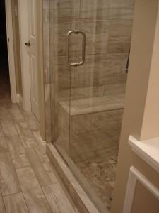 Frameless Shower Door – Low Iron Ultra Clear Glass with ShowerGuard