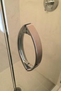 Frameless Shower Door Handle – Chrome