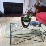 Clear Glass Coffee Table Furniture Table Top