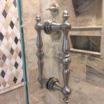 Decorative Shower Door Pull