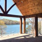Low Iron Glass Ultra Clear Lakeside Patio Cabin Railing