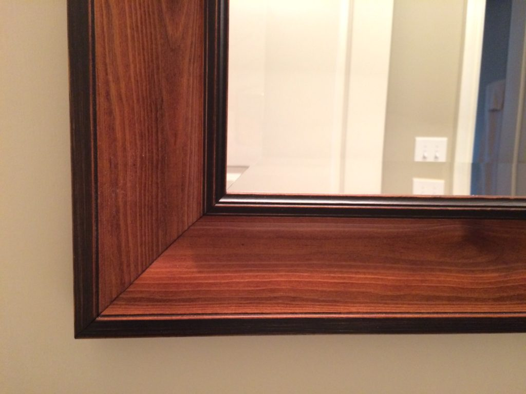 Custom Glass Mirror Frame