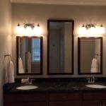 Triple Glass Mirror Master Bath Vanities