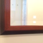 Custom Glass Mirror Frame