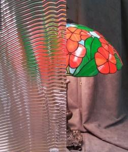 Ripple Pattern -Cabinet Door Glass