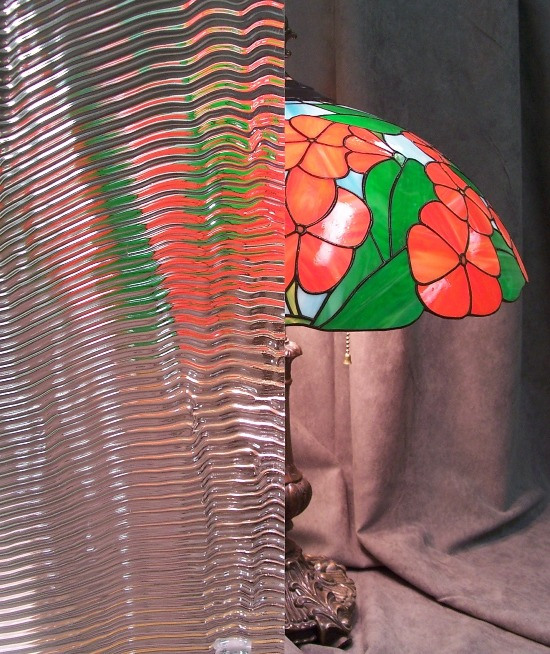 Ripple Patterned Glass