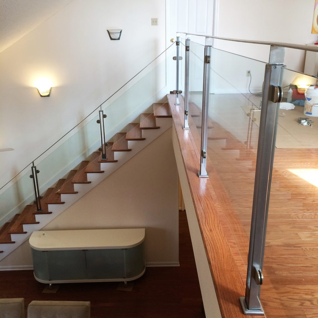 Ultra Clear Low Iron Interior Glass Railing System