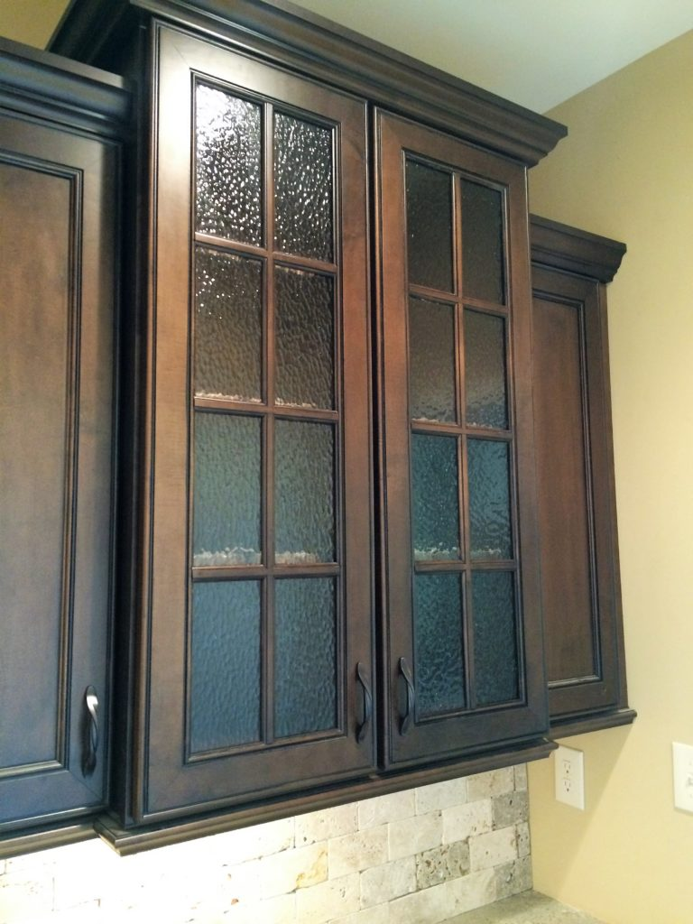 Patterned Cabinet Glass
