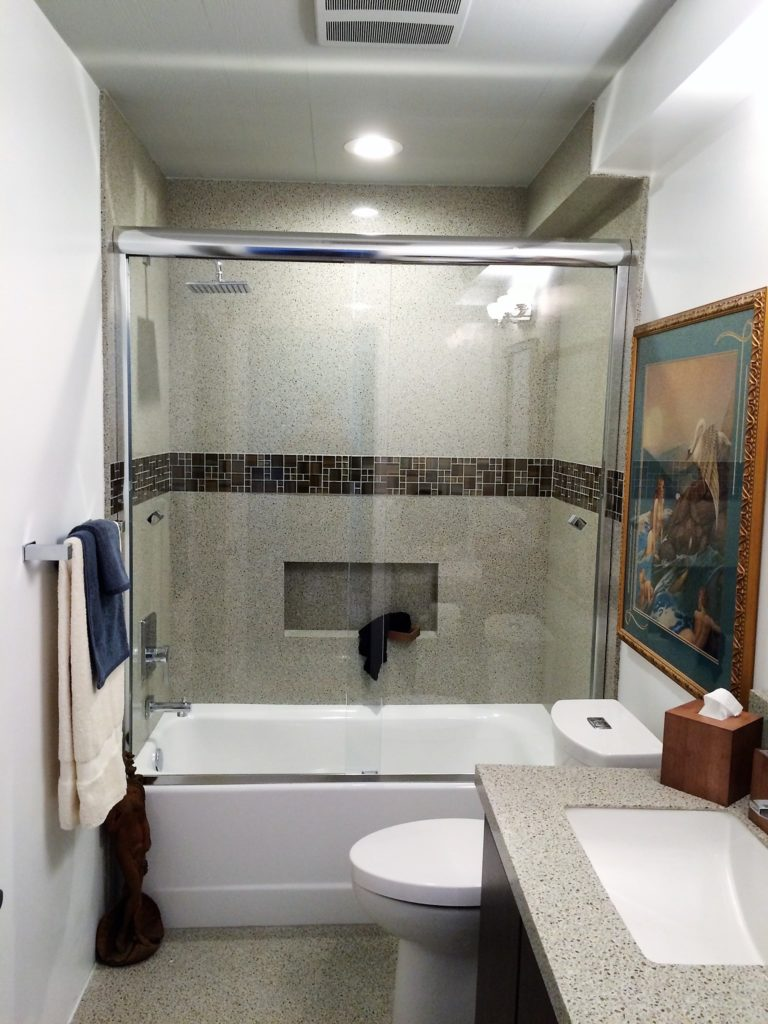 Heavy Duty Glass Shower Slider