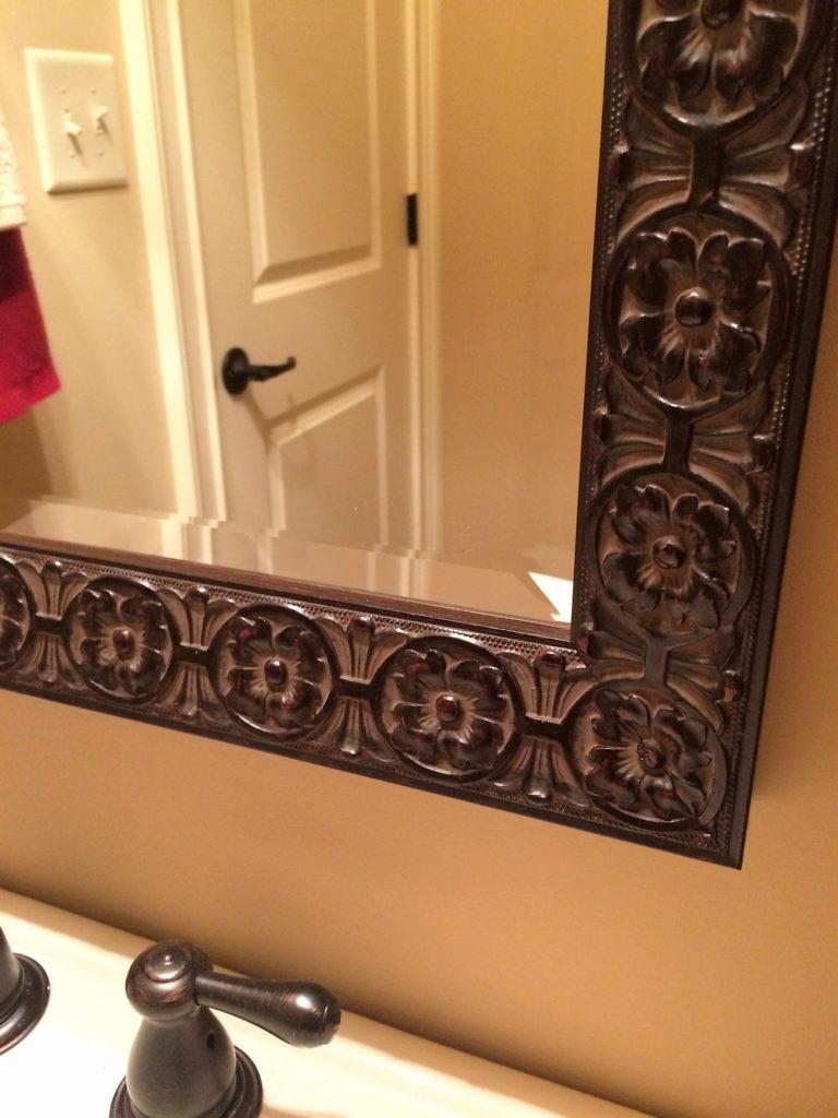 Beveled Edge Framed for Bathroom Vanity