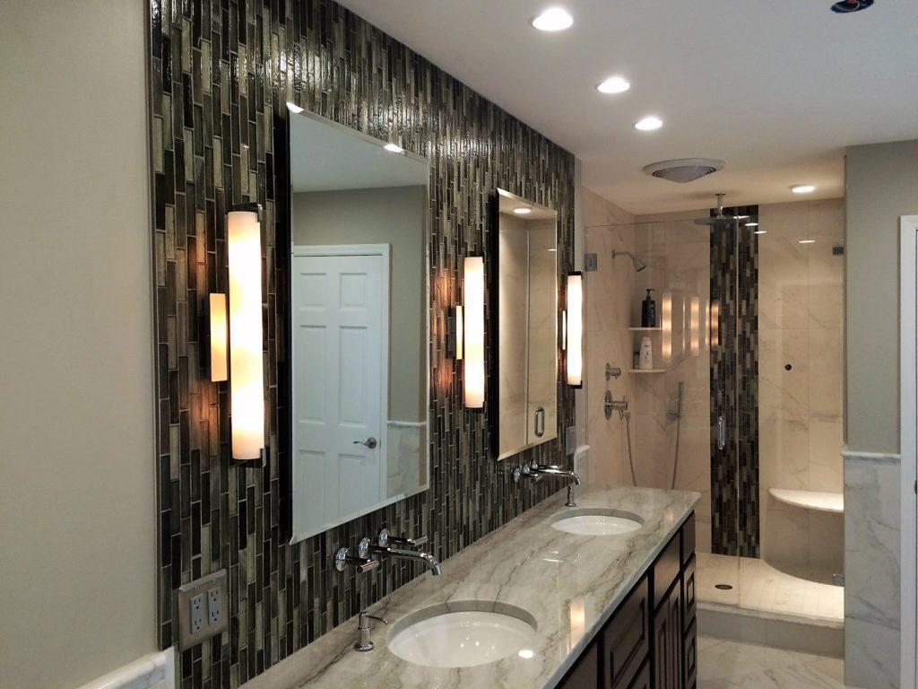 Ultra Clear Inline Swingdoor Shower Enclosure