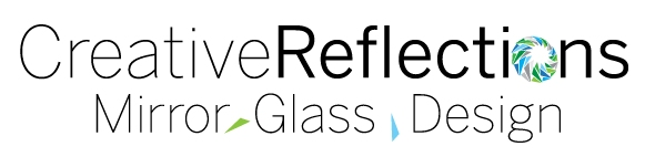 Creative Reflections Mirror Glass Design Logo
