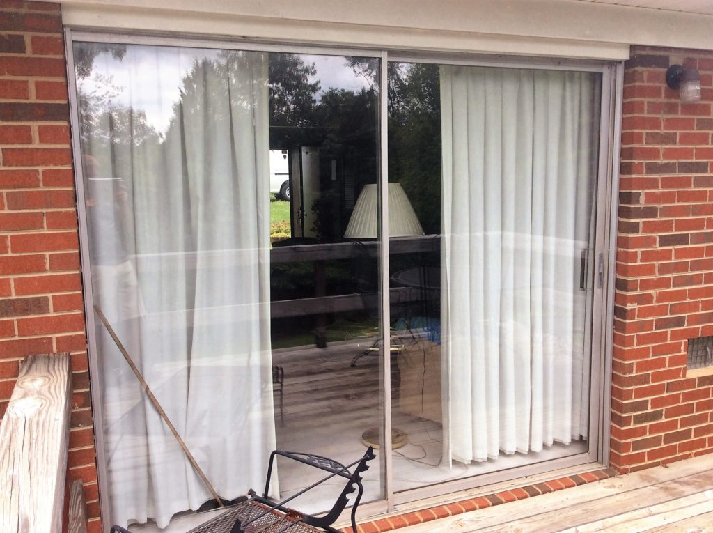 Large Sliding Glass Door Glass Replacement After