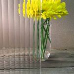 Reeded Glass Pattern